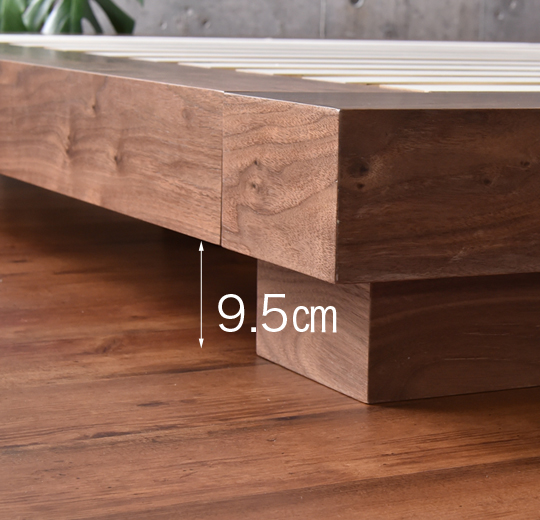 villaローベッドすのこ床板