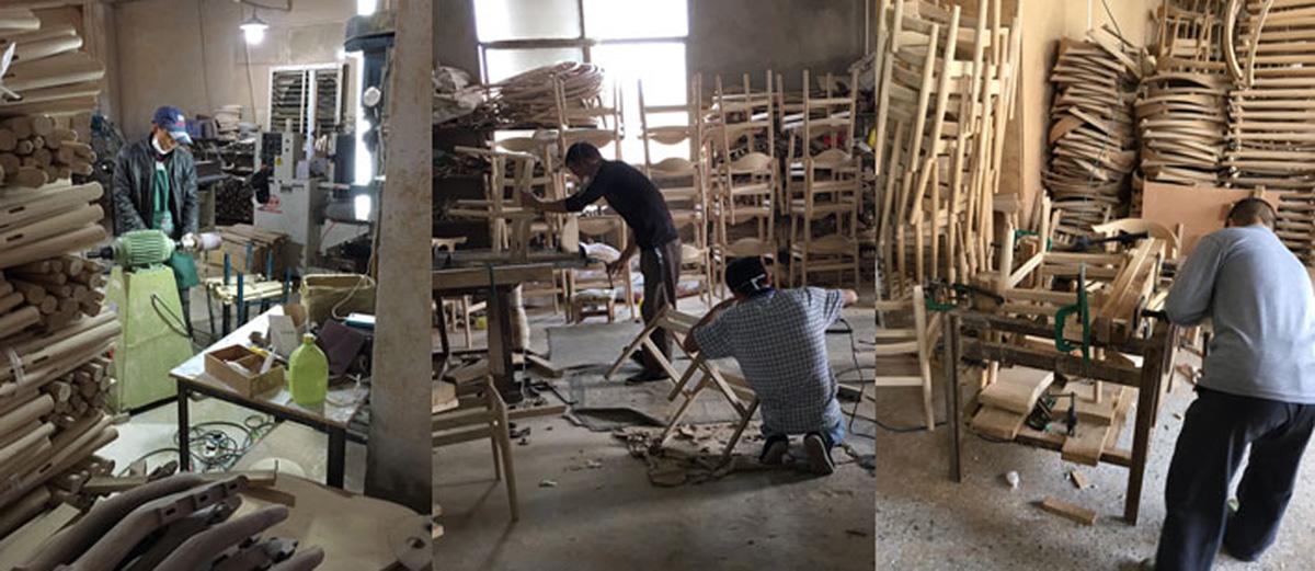 中国製造工場の様子