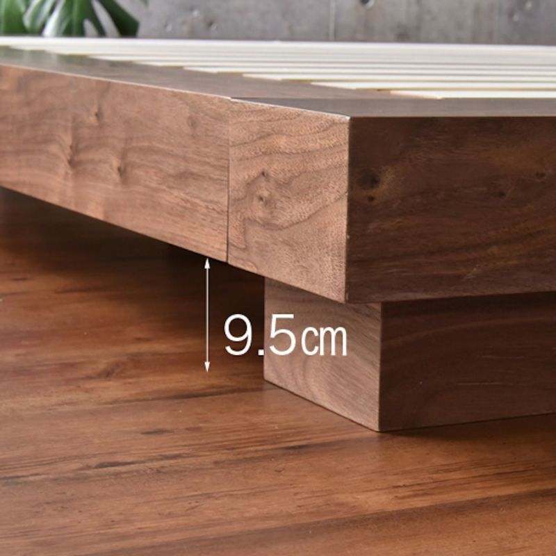 VILLAローベッド キングサイズ 床板クリアランス